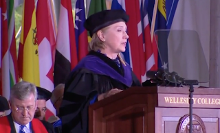 Hillary Clinton Uses Wellesley Commencement Speech To Plug Her New Dark Money Group