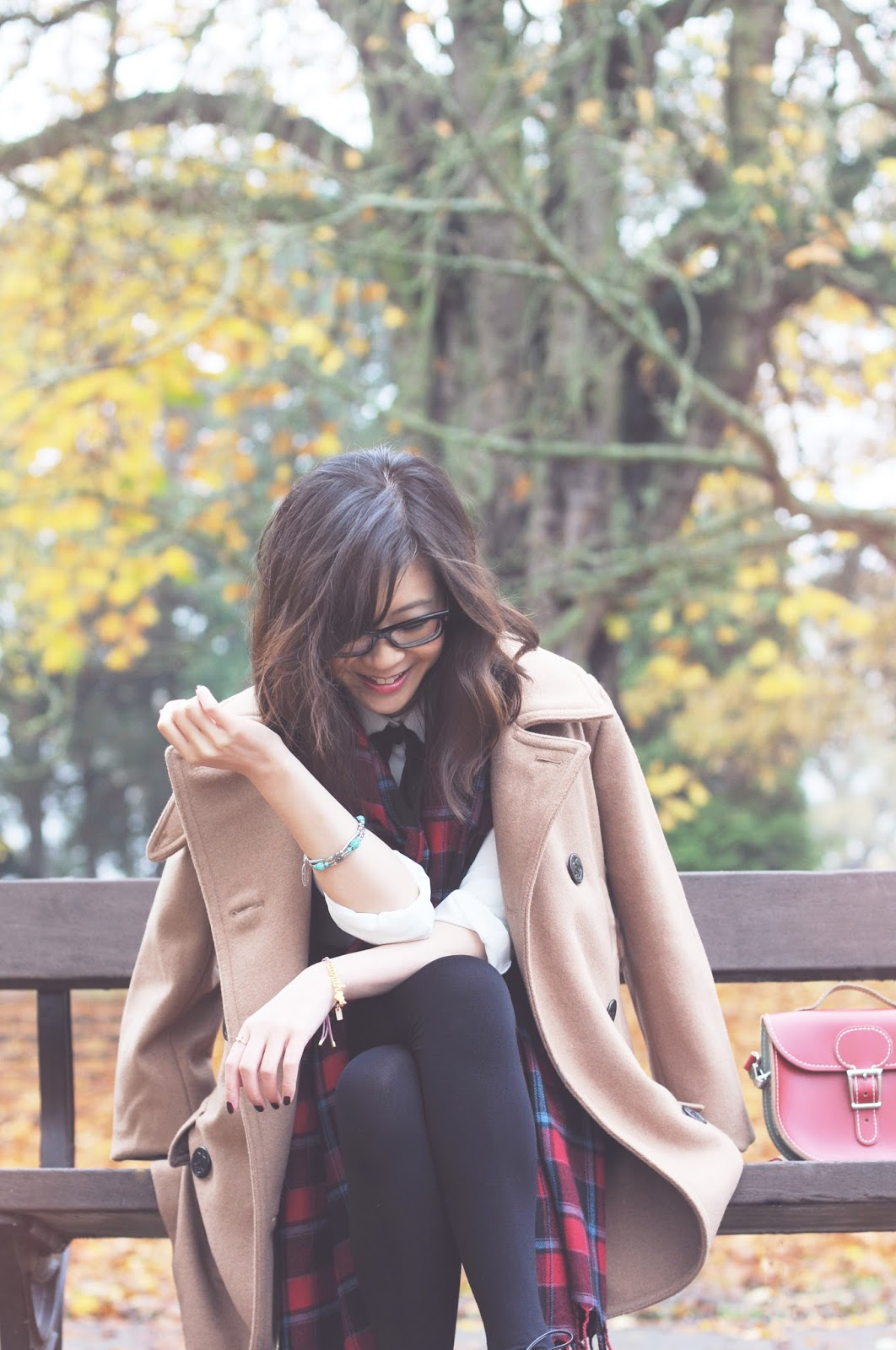fashion blogger, how to style a beige camel coat