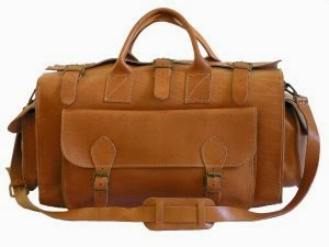 Tas Travel Kulit Vintage