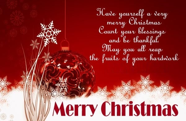 Merry Christmas Wishes Images 7