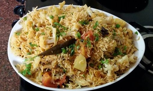 AROMATIC VEGETABLE RICE RECIPE