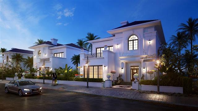 Phối cảnh biệt thự Vinpearl Phú Quốc 4 Resort & Villas