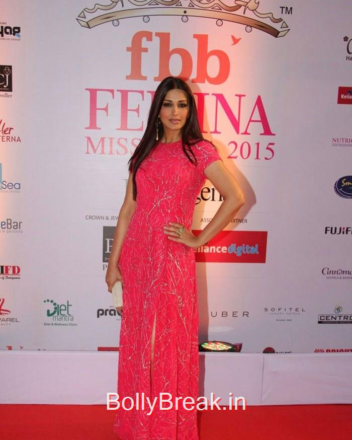 Sonali Bendre, Grand Finale of Femina Miss India 2015 Photo Gallery