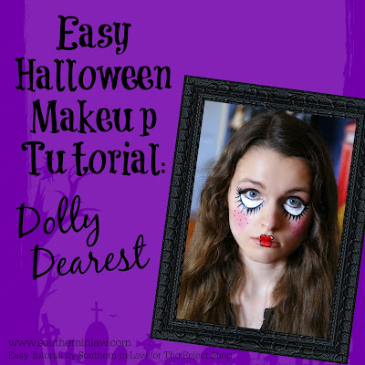 Dolly Dearest Easy Doll Halloween Makeup Tutorial