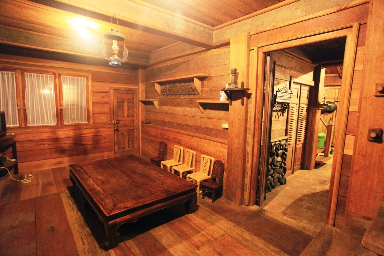 Desain Interior Rumah Dari Kayu Jati Informasi Desain
