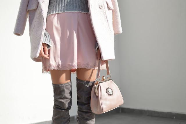 farbe rosa wintermode 2018/2019
