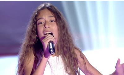 Gabriela: La vie en rose |  Audiciones a ciegas La Voz Kids
