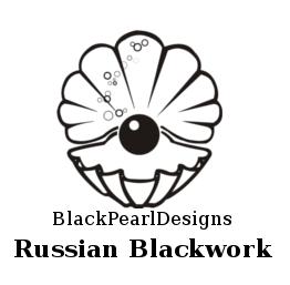 Russian Blackwork: Contemporary Russian Blackwork