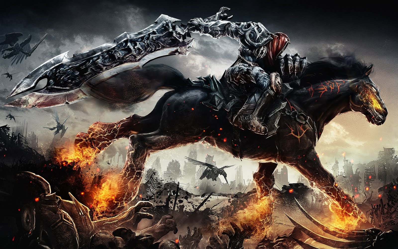 Darksiders War Wallpaper By: HD: DARKSIDERS