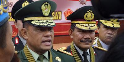 Kompak Kapolri Sebut TNI Boleh Tangkap Orang Beratribut PKI - Commando