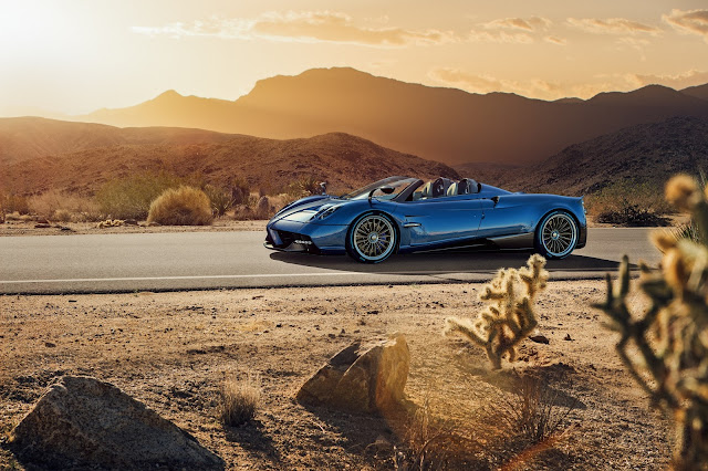 FINALLY Here Is The Pornographic Pagani Huayra Roadster