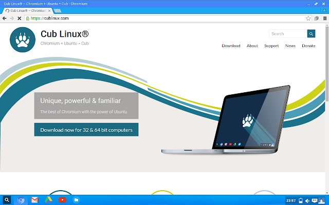 Chromium web browser