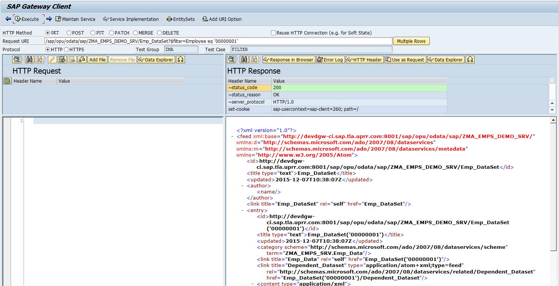 SAP Netweaver Gateway Example for Beginners - Sap 4 All