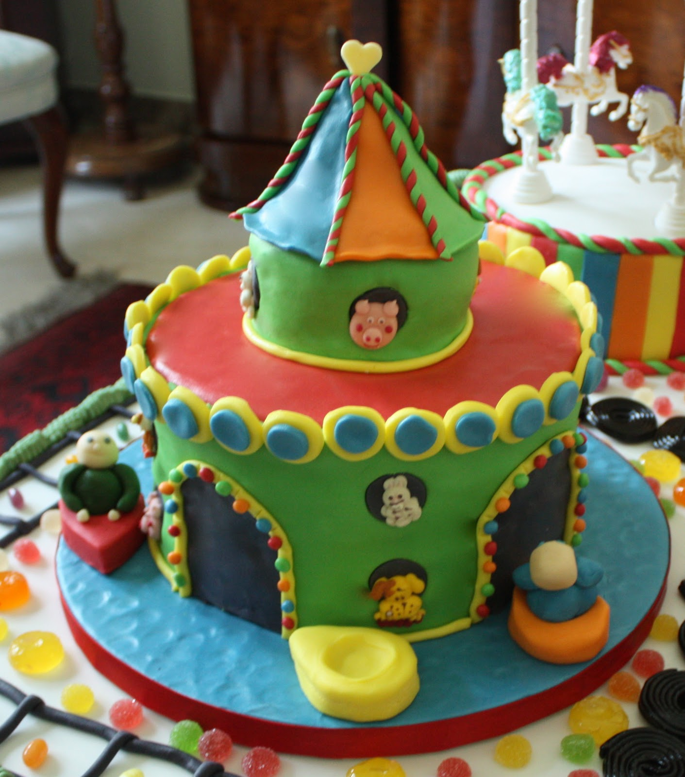 Amusement Park Cake