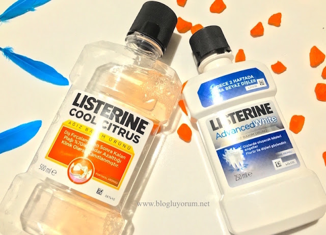 listerine advanced white listerine cool citrus kullananlar