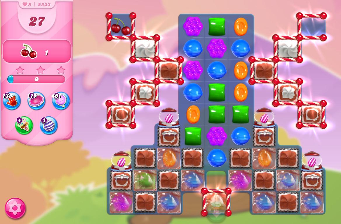 Candy Crush Saga level 5523