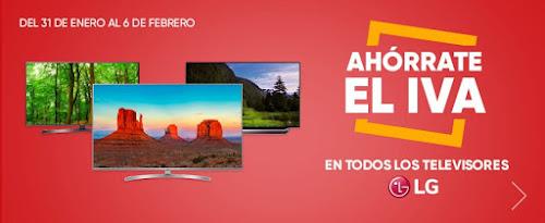 Top 5 ofertas promo Ahórrate el IVA en televisores LG de Fnac