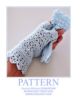 crochet patterns, how to crochet, mittens, vintage, fingerless, gloves,