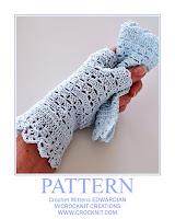 crochet patterns, how to crochet, mittens, edwardian, vintage,