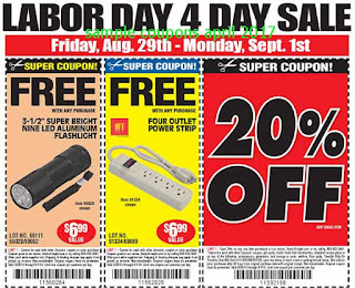 free Harbor Freight coupons for april 2017