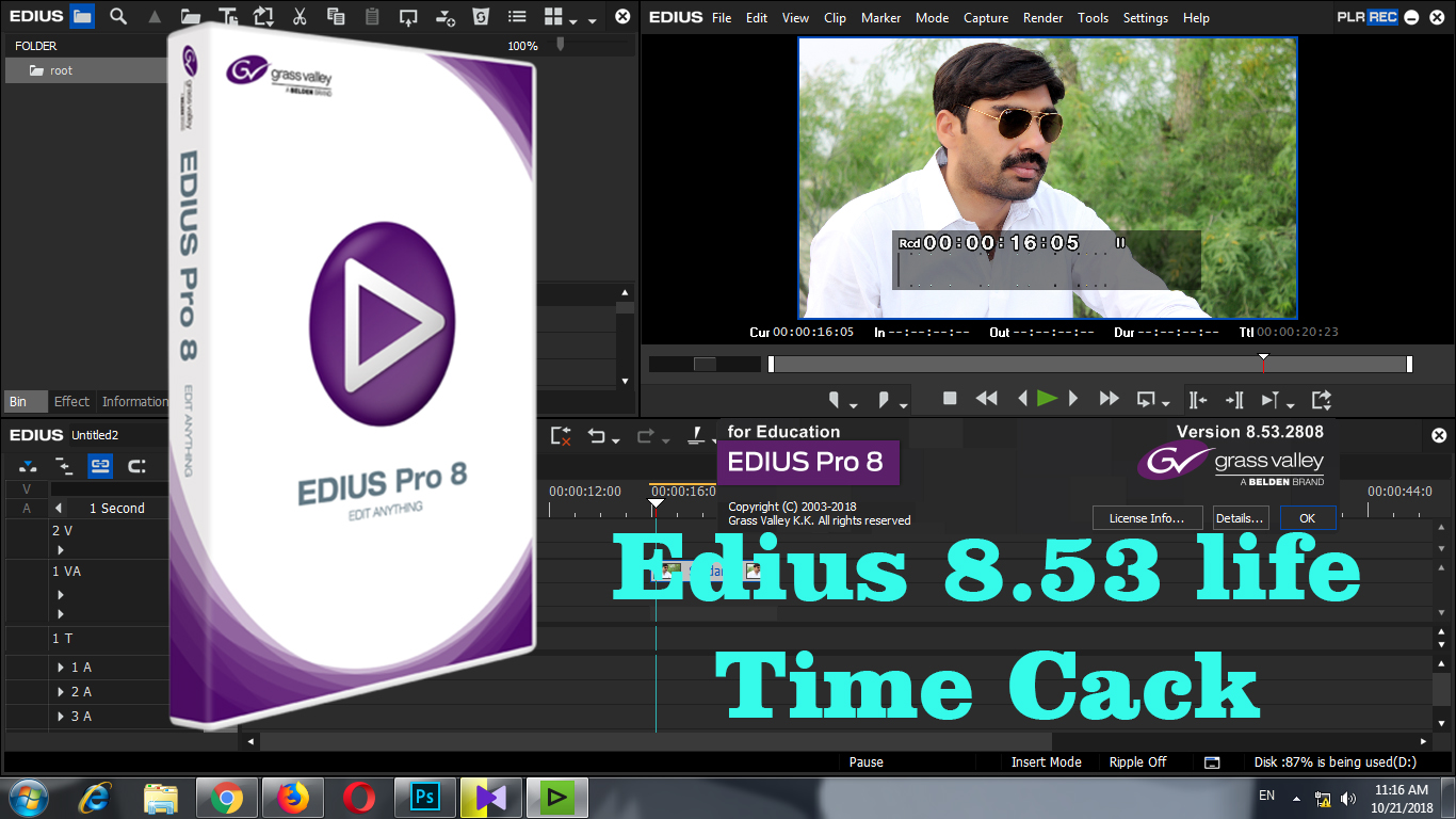 edius 8 software free download with crack