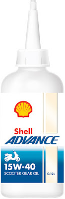 Shell Advance Scooter Gear Oil