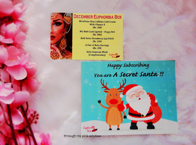 Euphorbia Box December Unboxing and Review