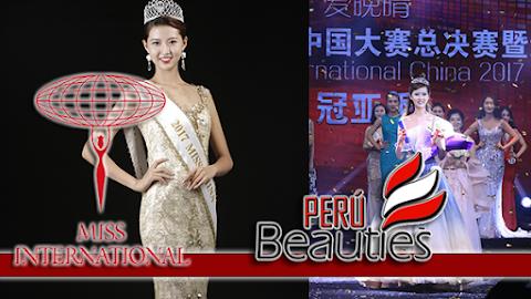 Wang Shengxu es Miss Interantional China 2019