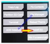 install SU - Moto Z Play