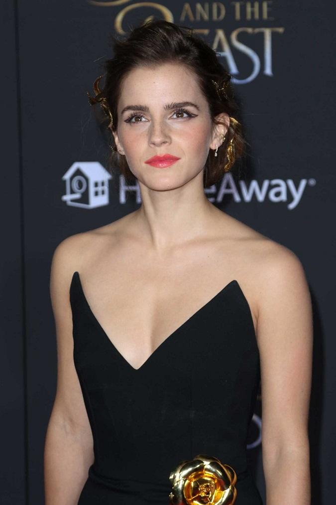 Emma Watson at Disney's 'Beauty and the Beast' World Premiere in LA