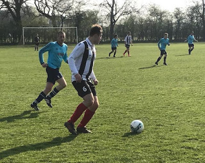 AFC Queensway v Barnetby United action picture - Saturday, March 30, 2019 - Scunthorpe League