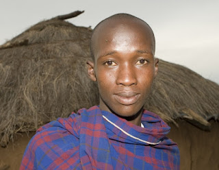 Kenyan teenager