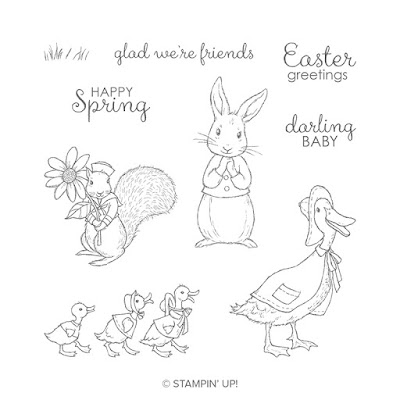 Craftyduckydoodah!, Easter, Fable Friends, Stamp 'N' Hop March 2019, Stampin' Up! UK Independent  Demonstrator Susan Simpson, Supplies available 24/7 from my online store,