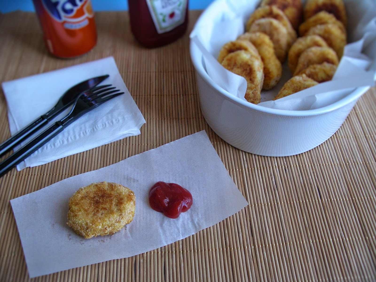 Chicken nuggets (my way)