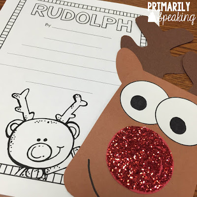 Free Rudolph Poem and Craft