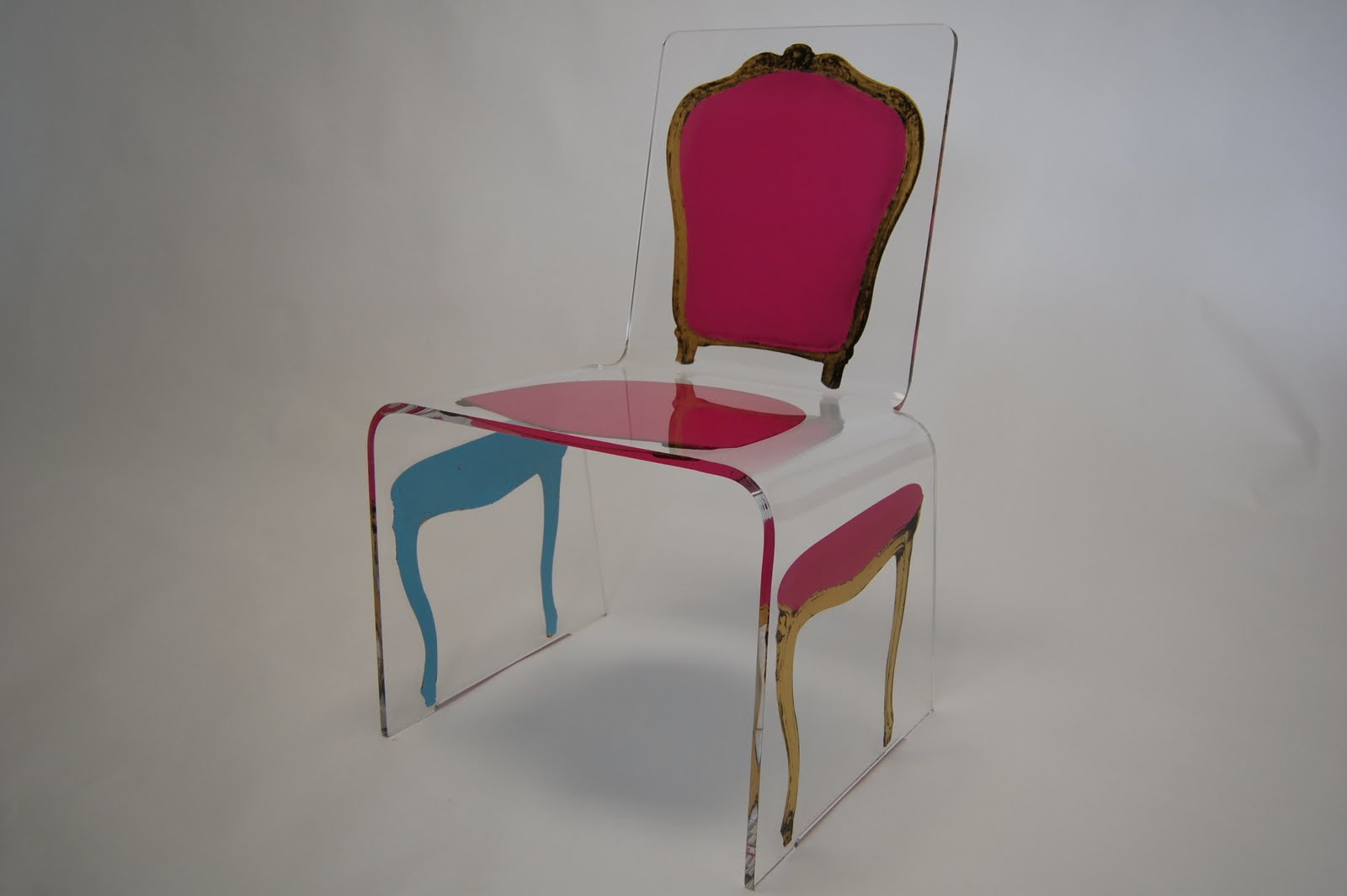 Acrylic Chair Fine Art Furniture By Aaron R Thomas Acrylic