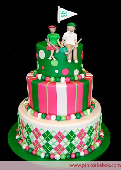golf girl s diary top 10 golf cakes   creative
