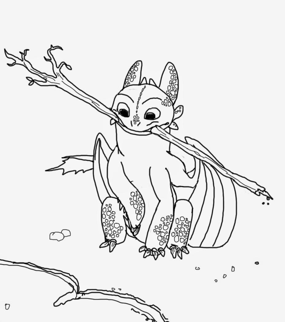 Toothless the Nightfury: Subtle Toothless