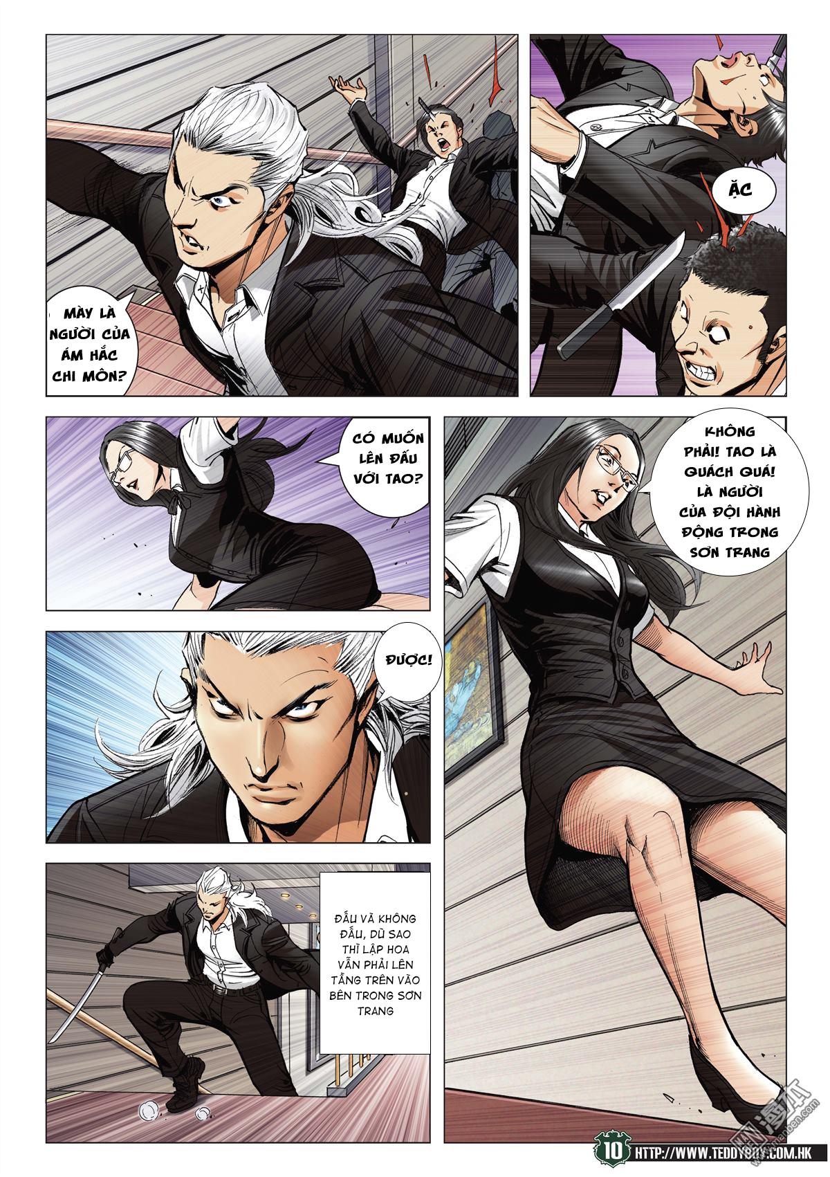 Người Trong Giang Hồ RAW chap 2070 - Trang 9