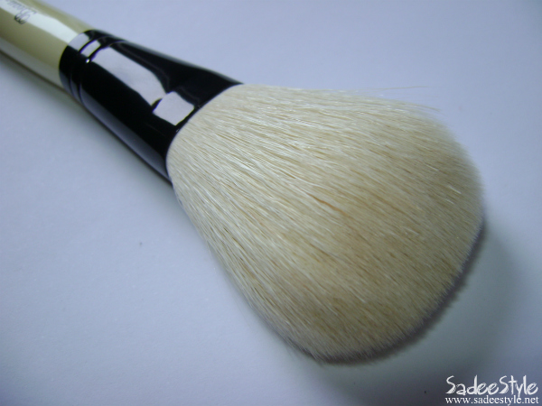 Short Handle White Sheep Powder Makeup Brush XL