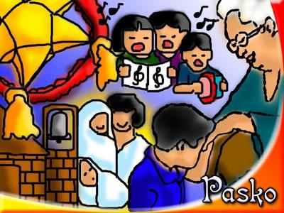 Pinoy Samut Sari 8 Filipino Christmas Traditions Icons