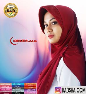 jilbab pet kancing