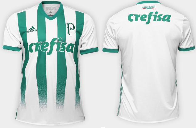 Camisas e Manias  Palmeiras   Adidas - Camisa II - 2017 18 de49bc8336fbe