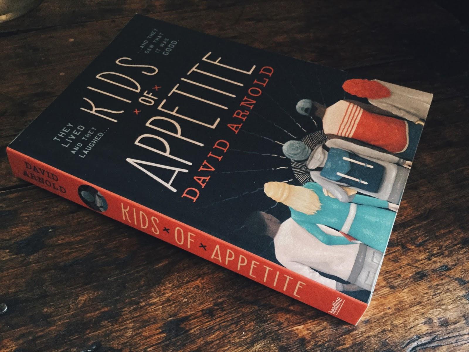 LIVRE Kids of Appetite - David Arnold