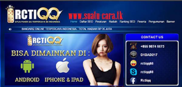 RCTIQQ.COM Agen Judi Poker | dominoQQ | bandarQ ONLINE TERPERCAYAINDONESIA