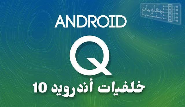 تحميل خلفيات نظام اندرويد 10 Android Q للموبايل