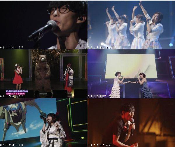 [TV-Variety] かどみゅ! KADOKAWAアニメの映像と名曲が紡ぎだす夢のライブ (WOWOW 2016.10.16)