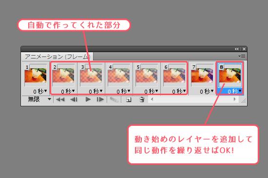 NONtic トゥイーンで滑らかなGIFアニメーション作成