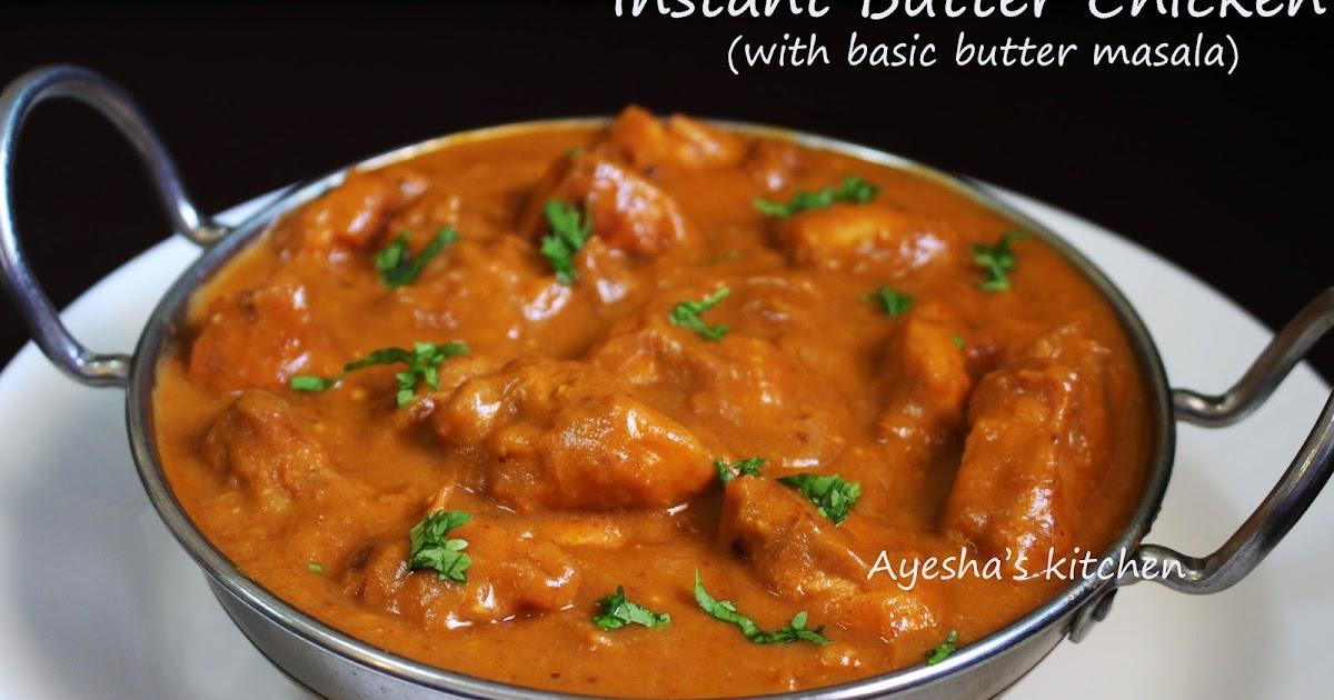 murgh makhani chicken tikka masala recipe