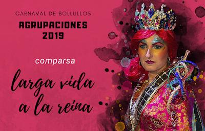 """Comparsa """"Larga vida a la reina"""" 2019"""